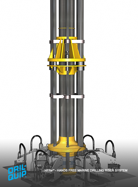 Hands Free Marine Drilling Riser System